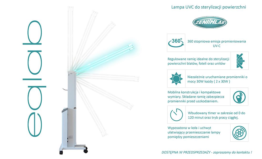 lampa bakteriobójcza Zenithlab